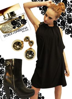 SHE HAS A LITTLE BLACK DRESS
