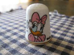 Daisy Duck thimble