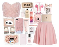 Blushing pink by piksist on Polyvore featuring Drome, Converse, M&S, H&M, NYX, philosophy, Darphin, Christian Dior, Kate Spade and PhunkeeTree
