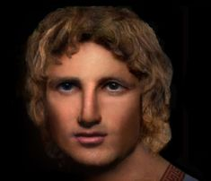 Reconstruction of the face of Alexander the Great
