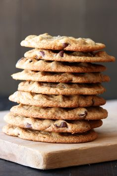 ok -  I am always on the search for the perfect chocolate chip cookie! these are thin and crispy.