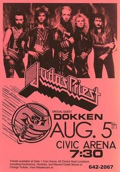 This tour was my first concert...1986