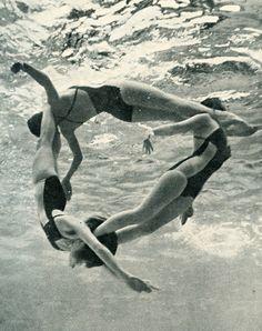 Quand les Jeanne font de la natation synchronisée !!!