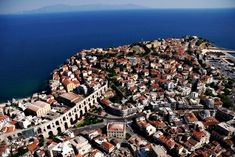 Delight with the many neighboring beaches and small coves, take a walk around the Old Town, visit the famous Kamares (an aqueduct built in 1550) and take a stroll around the city's Byzantine castle (16th century). #Kavala #EasternMacedoniaandThrace #Thrace #Greece #Monterrasol #travel #privatetours #customizedtours #multidaytours #roadtrips #travelwithus #tour #nature #sea #summer #beautiful #thisisgreece #tourism #destination #architecture #landscape #seascape #blue #city #outdoors… Blue City, Byzantine, Day Tours, 16th Century, Old Town, Beaches, City Photo, Cities, Greece