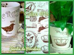 Calcos para Ceramica-Porcelana y Vidrio Pedidos jardindeporcelana@gmail.com…