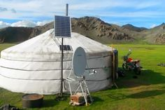 ALLPE Medio Ambiente Blog: Cómo un panel solar mejora la vida de más de medio millón de nómadas