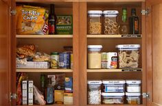 pantry cleanout