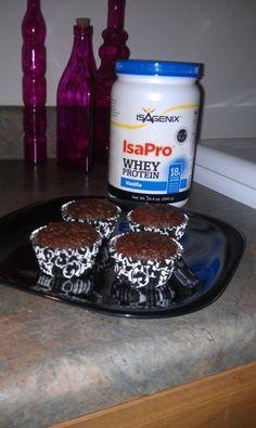 what a great idea to make muffins out of isAgenix protein powder. www.doctorleta.isagenix.com