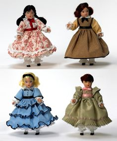 Tiny Betty Little Women 7 inch doll Set -- Released in 2009, Little Women Tiny Betty Box Set is a part of the Arts collection and is recommended for ages 14 and up. This Madame Alexander doll carries on the tradition of The Alexander Doll Company, which has been known for its elegant and beautifully costumed dolls since the 1920s. Tiny Betty dolls were first introduced in 1935.