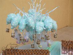 μπομπονιέρες βάπτισης αερόστατα