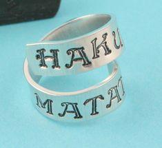 Hakuna Matata Ring - <3 lion King!