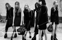 Alexander Wang Fall/Winter 2015/2016 | The Fashionography