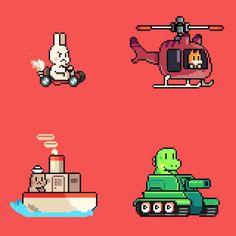 Scott Pilgrim, Pilgrim Vs The World, Pixel Characters, Pixel Animation, Pixel Design, Pixel Art Games, Game Concept Art, Character Design Inspiration, Art Techniques