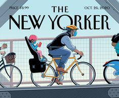 This New Yorker Cover by R. Kikuo Johnson Really Normalizes Bikes! | The Radavist | A group of individuals who share a love of cycling and the outdoors.
