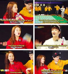 Lol Jihyo is the only one who can control the Commander ^_^ Running Man Funny, Running Man Song, Running Man Korean, Ji Hyo Running Man, Running Humor, Korean Tv Shows, Korean Variety Shows, Kim Jong Kook, Family Outing