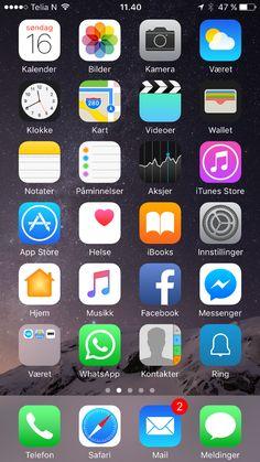 iPhone med mange nyheter!