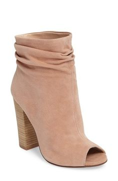 Free shipping and returns on Kristin Cavallari 'Laurel' Peep Toe Bootie (Women) at Nordstrom.com. Gentle ruching gives a stylishly slouchy look to an on-trend bootie with a flirty peep toe.
