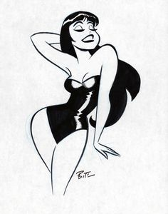 Erotic Art by Bruce Timm Illustration, Retro Art, Bruce Timm, Art, Art Sketches, Book Art, Pop Art, Cartoon Art, Aesthetic Art