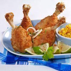 Pilons de poulet frit - Cuisine actuelle mobile