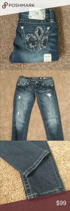 Miss Me Jeans. NWOT Brand new jeans still have size sticker on them. Never worn or washed. Perfect pair. Inseam is 30 Miss Me Jeans