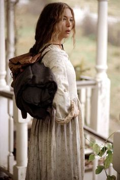 Ruby in Cold Mountain - one of my all time favorite movie characters even though its the saddest movie ever ! Such a strong women in hard times. Sad Movies, Great Movies, Movie Tv, Katharine Ross, Cold Mountain, Renee Zellweger, Foto Art, Movie Costumes, People