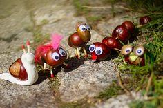 Verregnete Herbsttage? Auf unserem Blog findest du Bastelideen für Groß und Klein.