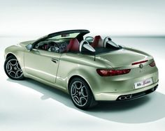 Alfa Romeo Brera and Spider Facelift Revealed