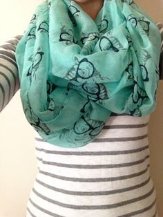 Hipster Cat Scarf