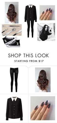 """Hogwarts"" by harrypotalways ❤ liked on Polyvore featuring Paige Denim and Orla Kiely"