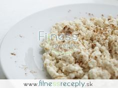Zdravé fitness recepty - Proteínová bomba Krispie Treats, Rice Krispies, Feta, Smoothies, Breakfast Recipes, Cheese, Dinner, Fitness, Yum Yum