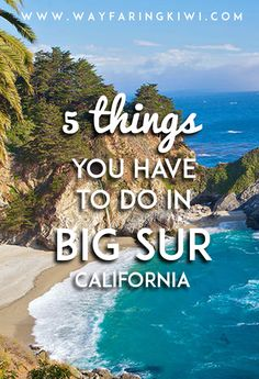 If you find yourself in San José Sacramento Fresno San Luis Obispo or any city near those it's also a completely reasonable weekend trip to get to Big Sur and Monterey. Regardless this should be on everyone's bucket list! Big Sur California, Monterey California, California Coast, San Luis Obispo California Things To Do, California Vacation, Pebble Beach California, Carmel California, Northern California Travel, Santa Cruz California