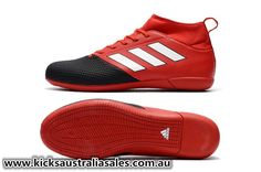 9aca8c284d3b9 Newest Adidas ACE 17.3 Primemesh IN Red White Core Black - futsal Indoor -  Mens Shoes By Type