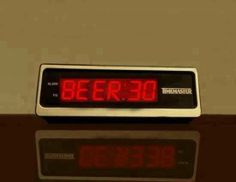 It's beer time!