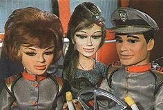 Marina, aqua Marina ~ stingray kiddies tv string puppet series in the - marionettes. Troy Tempest and Marina from Stingray - Gerry Anderson Old Tv Shows, Great Tv Shows, Star Of The Day, Thunderbirds Are Go, Vintage Television, Cult, Kids Tv, Vintage Tv, My Childhood Memories