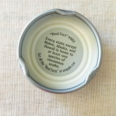 snapple real fact 802