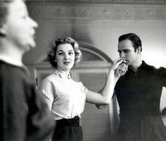 Marlon Brando at the Actor's Studio, circa 1950's.