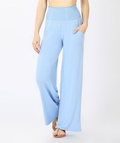 Elevate your lazy day looks with these flowy lounge pants designed with a smocked high-rise waistband and lightweight stretch blend offering all-day comfort. A solid hue offers effortless pairing with your favorite tees and tanks. Boho Lounge, Lounge Wear, Lounge Pants, Signature Style, Casual Chic, Smocking, Casual Pants, Color Pop, Pajama Pants