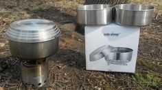 Solo 3 pot set and Solo Stove in action