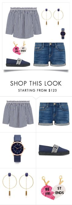 """Untitled #802"" by briezy-2 ❤ liked on Polyvore featuring Madewell, Frame, Marc Jacobs, Kenzo, Isabel Marant and Edie Parker"