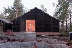 Kolman Boye - Kaggeboda cabins, Norrtälje 2013. via SUBTILITAS