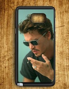 Johnny Depp Samsung Galaxy Note Edge Case