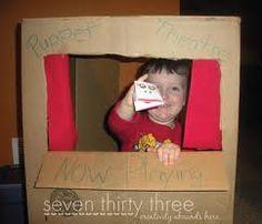 cardboard puppet theatre - http://www.cardboardhouse.co.uk