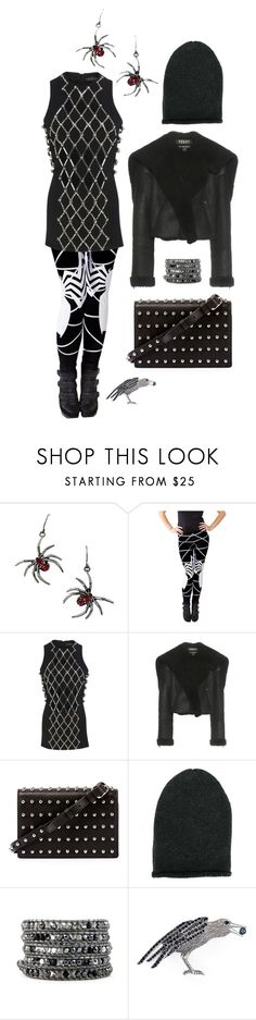 """""""I spy a spider"""" by perpetto ❤ liked on Polyvore featuring David Koma, adidas Originals, Alexander Wang, KristenseN du Nord and Marc Jacobs"""