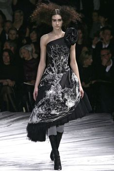 Alexander McQueen, Dress. 'The Girl Who Lived in a Tree' Autumn/Winter 2008.