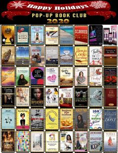 """🎁 Check out our """"Pop-Up Book Club - 2020"""" on Pinterest. We would like to Thank and Bless these inspiring and skillful authors for giving us the opportunity to promote their books."""