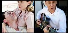 Tom Hiddleston as Hank Williams with Elizabeth Olsen as Audrey Mae Williams