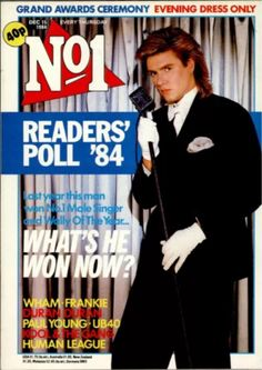 No.1 magazine 15th DECEMBER 1984 ✅ Simon Le Bon cover Duran Duran clears up again at the end of year readers' poll