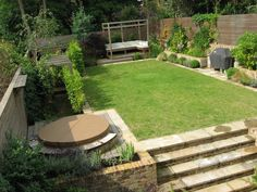 Browse through the works of Justin Greer, garden & Landscape designer based out of Wimbledon, to choose design ideas that we can customise according to your requirements. Garden Design London, Wimbledon, Garden Landscaping, Stepping Stones, Landscape Design, Outdoor Decor, Garden Ideas, Diy Ideas, Gardening