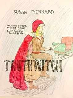 By Waterwitch Charlene - USA cover featuring Santa Safi!