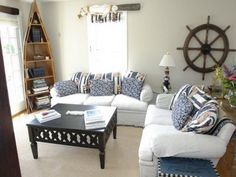 Nautical Themed Living Room Ideas Small Furniture Sets Decorating With Beautiful Image 20 Important Facts That You Should Know About Beach Style Designnautical Themedecor